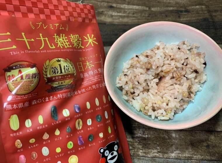 くまモンのプレミアム三十九雑穀米
